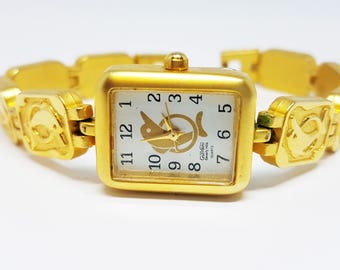 Giovani Beverly Hills Watch | Vintage watch | Gold watch band | Unique ladies watch | Cute watch gift for wife | Premium watch | Dress watch