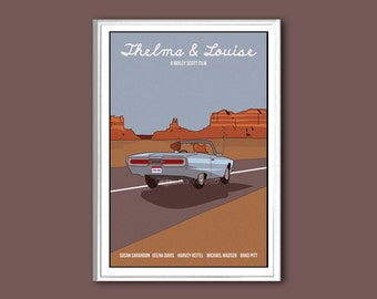 Thelma & Louise movie poster print in various sizes