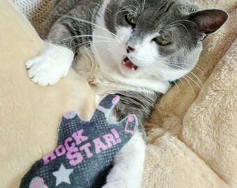 Felt Cat Toys with Optional Catnip, Valerian, Jingle Bells