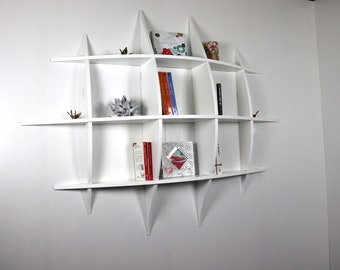 Invisible fastenings PM design wall library