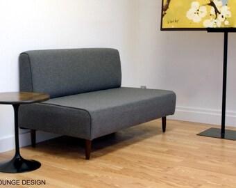 BOKZ Love Seat  Eames Era Mid Century Modern Style
