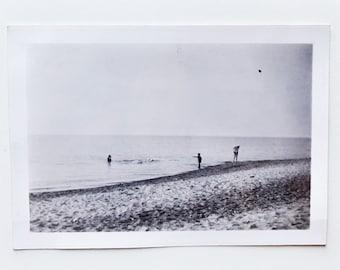 Original Vintage Photograph | Beach Frolic