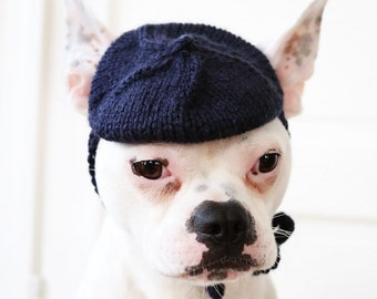 Dog Hat - Petite French Beret - Dog Beret - Pug Beret - French Bulldog Hat - French Bulldog Clothing - Pug Clothing - All You Need is Pug®