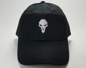 Overwatch Reaper Dad Cap