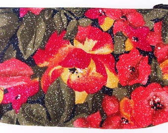 Orange Flower Wallet