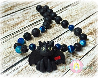 Toothless Necklace Toothless Boys Necklace