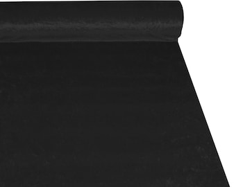 Black Crushed Velvet High Quality Fabric Material *3 Sizes*