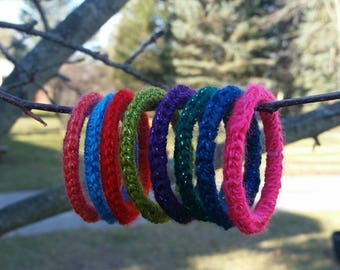 Cat Ferret Ring Toys, Recycled Rings Toy, Gift for Cats and Ferrets
