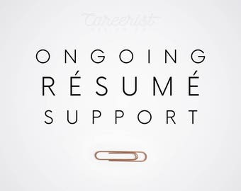 Ongoing Resume Support (Current Clients Only)