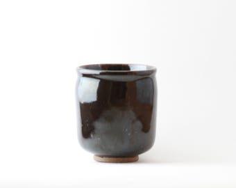 Black Ceramic Cup