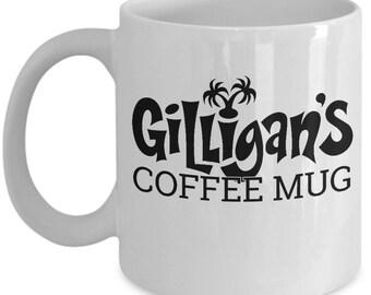 Gilligans Island Coffee Mug - Ceramic Mug For Coffee And Tea, 11oz and 15oz, Made In The USA