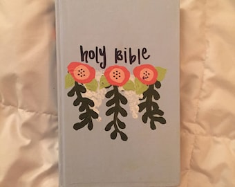Hand Painted Bible NIV