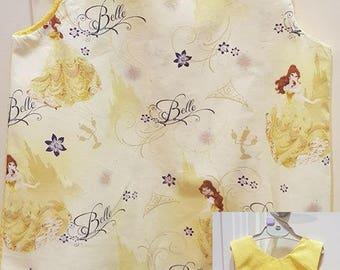 Disney Princess Belle Reversible A Line Toddler Dress Sizes 1-6