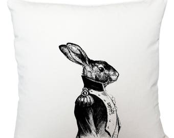 Cushions/ cushion cover/ scatter cushions/ throw cushions/ white cushion/ general hare cushion cover