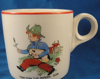 Tom Tom The Pipers Son Teacup