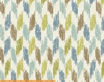 Ibiza - Broken Chevron by Rosemarie Lavin from Windham Fabrics