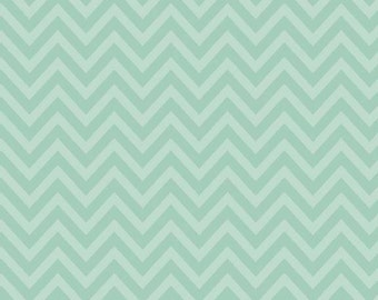 One Yard of Chevron in Blue from The Sweetest Thing by Zoe Pearn