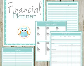 Financial Planner: Instant Download