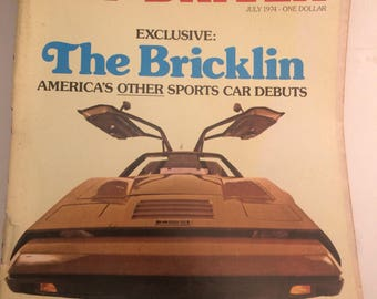 Exclusive: the Bricklin July 1974 Car & Driver issue