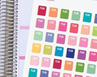Planner Stickers Plan