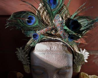 Cleopatra Golden Asp Headdress