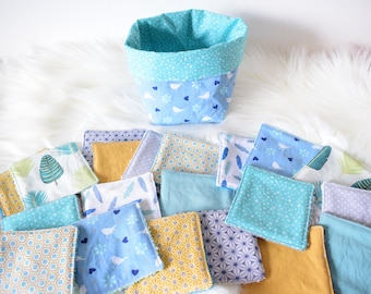 Basket of 20 wipes for baby