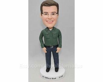 Custom bobblehead - birthday gifts for him, Mens Gift, Fathers Day Gift, Birthday Gifts For Men, Birthday Gift For Him, Gifts For Husband