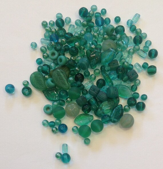 Indian glass bead mix