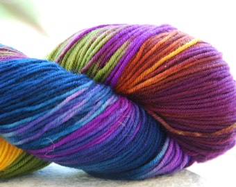 handdyed Yarn, 100g/ 3,5oz , colour 39d
