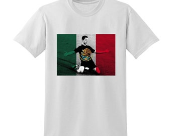 Russia World Cup 2018 Graphic Tshirt MEXICO Flag Football Team Soccer Country