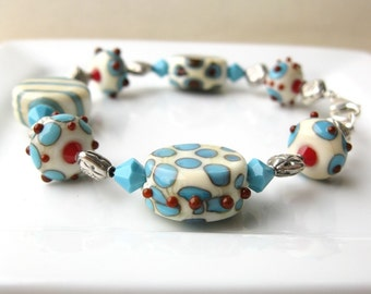 Mesa Lampwork Bracelet