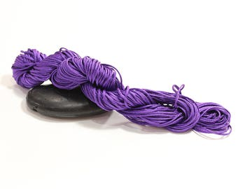 30 m cord nylon purple diameter 1.5 mm