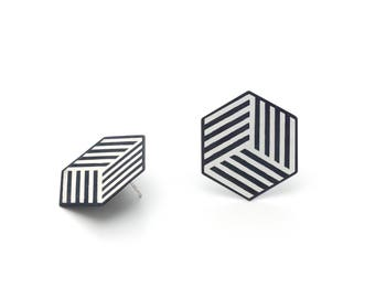 Hexagonal Earrings