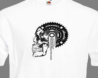 Men's Mountain Bike T Shirt - Men's Bicycle T Shirt - Men's Cycling T Shirt