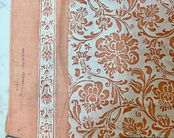 Signed Fortuny fabric