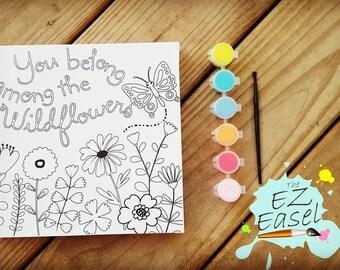 Kids Canvas paint kit