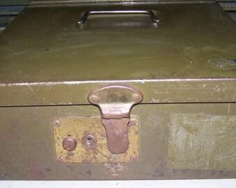 Vintage Presto Metal Insulated Fire Box