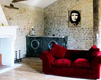 Painting on canvas deco Che Guevara