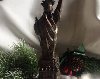Vintage Statue of Liberty Copper Statue