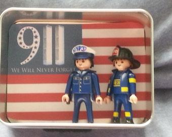 9-11 Memorial Mini Shadow Box