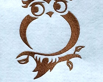 Owl Embroidery Design Instant Download