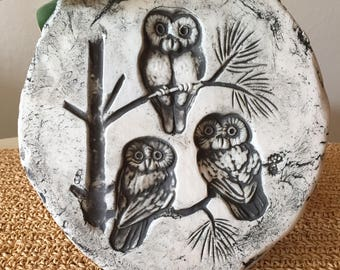 Stan Langtwait Owl Wall Hanging