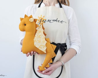 Stuffed Dragon Toy - Baby Dragon Toy - Dragon Baby Gift - Dinosaur Toddler Toy - Baby Nursery Decor - Baby Shower Gift - Birthday Baby Gift