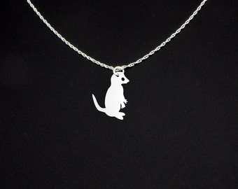 Meerkat Necklace - Meerkat Jewelry - Meerkat Gift