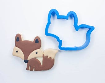 Woodland Fox Cookie Cutter   Animal Cookie Cutter   Woodland Cookie Cutters   Custom Cookie Cutters   Unique Cookie Cutters