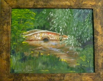 Famed OOAK Oil Painting on Canvas Board by Martha Horman