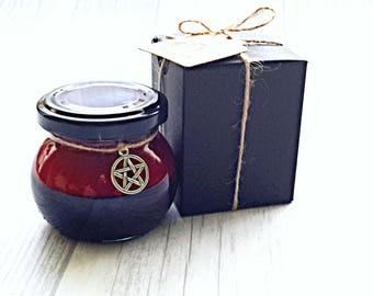 Spell candle Reversal, witchcraft candle, pagan candle, manifesting candle, spiritual candle, magical candle, intention candle, wicca item