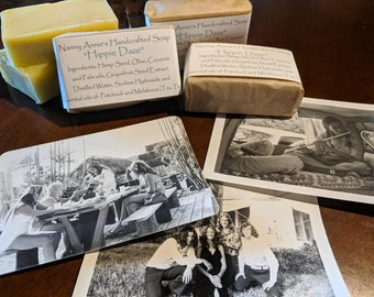 Hippie Daze Handcrafted Soap