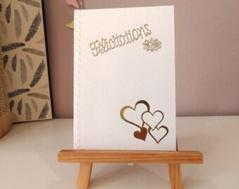 Congratulations wedding card wedding card