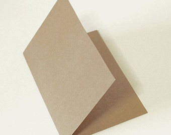 10 Kraft Hard Papers for Making Cards (8.5 x 6.1in)